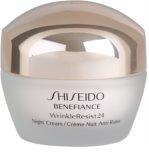 Shiseido Benefiance WrinkleResist24 Feuchtigkeitsspendende Nachtcreme gegen Falten