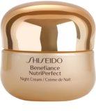 Shiseido Benefiance NutriPerfect crema revitalizante de noche  antiarrugas