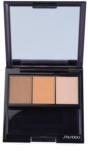 Shiseido Eyes Luminizing Satin trio тіні для повік