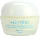 Shiseido Sun After Sun regenerierende und hydratisierende Creme für das Gesicht