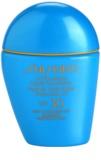 Shiseido Sun Foundation vízálló folyékony make-up SPF 30