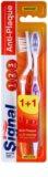 Signal Anti-Plaque escovas de dentes média 2 pçs