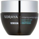 Soraya Intensive Repair erneuernde Creme-Maske für die Nacht