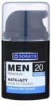 Soraya MEN Adventure 20+ matující krém s hydratačním účinkem pro muže