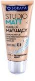 Soraya Studio Matt maquillaje matificante con vitamina E