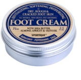 Sportique Wellness Bergamont-Peppermint-Sage Revitalizing Cream On Cracked Feet