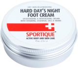 Sportique Sports Revitalizing Cream On Cracked Feet