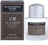 St. James Of London Black Pepper & Persian Lime Eau de Cologne für Herren 50 ml