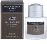 St. James Of London Black Pepper & Persian Lime colonia para hombre 50 ml