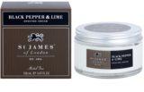 St. James Of London Black Pepper & Persian Lime crema de afeitar para hombre 150 ml