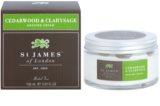 St. James Of London Cedarwood & Clarysage krem do golenia dla mężczyzn 150 ml