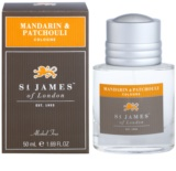 St. James Of London Mandarin & Patchouli kolonjska voda za moške 50 ml