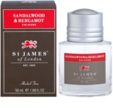 St. James Of London Sandalwood & Bergamot kolonjska voda za moške 50 ml