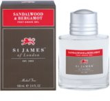 St. James Of London Sandalwood & Bergamot After-Shave Gel für Herren 100 ml