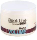 Stapiz Sleek Line Volume máscara hidratante para cabelo fino e sem volume