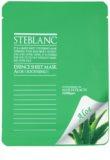 Steblanc Essence Sheet Mask Aloe успокояваща маска за лице