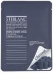 Steblanc Essence Sheet Mask Charcoal почистваща маска  за мазна кожа
