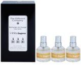 The Different Company White Zagora toaletní voda pro ženy 3 x 10 ml (3x náplň s rozprašovačem)