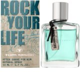Tom Tailor Rock Your Life For Him loción after shave para hombre 50 ml