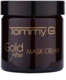 Tommy G Gold Affair maseczka nawilżająca i rozświetlająca dla cery wrażliwej