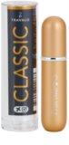 Travalo Classic HD plniteľný rozprašovač parfémov unisex 5 ml  Gold