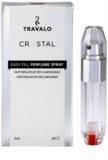 Travalo Crystal Silver vaporizador de perfume recargable unisex 5 ml