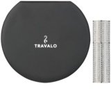 Travalo Divine Refillable Atomiser unisex 5 ml with Swarovski crystals Silver