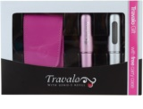 Travalo Excel set cadou II. (Pink and Silver)