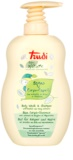 Trudi Baby Nature leche de baño y champú hipoalergénico con extracto de margarita y brezo