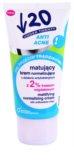 Under Twenty ANTI! ACNE матуючий крем з антибактеріальним ефектом
