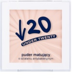 Under Twenty ANTI! ACNE polvos transparentes matificantes con efecto antibacteriano