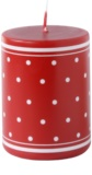 Unipar Retro Red dekorativní svíčka 200 g  (Pillar 60 - 80)