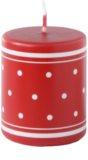 Unipar Retro Red gyertya 100 g  (Pillar 50 - 60)