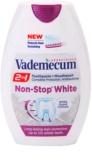 Vademecum 2 in1 Non-Stop White zobna pasta + ustna voda v enem