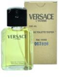 Versace L´Homme туалетна вода тестер для чоловіків 100 мл