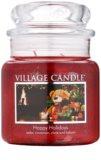 Village Candle Happy Holidays świeczka zapachowa  397 g średnia