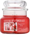 Village Candle Peppermint Stick vonná svíčka 269 g malá