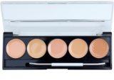 W7 Cosmetics Camouflage Kit paleta korektorów z lusterkiem i aplikatorem