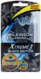 Wilkinson Sword Xtreme 3 Black Edition Disposable Razors