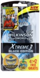 Wilkinson Sword Xtreme 3 Black Edition aparat de ras de unică folosință