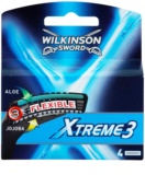 Wilkinson Sword Xtreme 3 Replacement Blades 4 pcs
