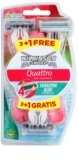 Wilkinson Sword Quattro for Women Sensitive maquinillas de afeitar desechables