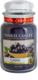 Yankee Candle Cassis Scented Candle 623 g Classic Large