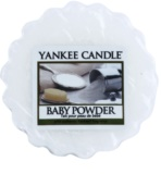 Yankee Candle Baby Powder vosek za aroma lučko  22 g