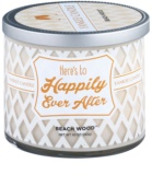Yankee Candle Beach Wood dišeča sveča  283 g  (Here´s to Happily Ever After)