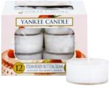 Yankee Candle Strawberry Buttercream čajová svíčka 12 x 9,8 g
