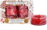 Yankee Candle Candy Cane Lane čajová svíčka 12 x 9,8 g