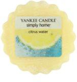 Yankee Candle Citrus Water illatos viasz aromalámpába 22 g