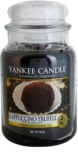 Yankee Candle Cappuccino Truffle Duftkerze  623 g Classic groß