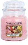 Yankee Candle Fresh Cut Roses Duftkerze  411 g Classic medium